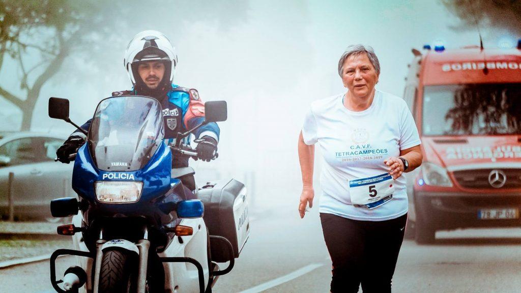 Corrida de rua em Curitiba