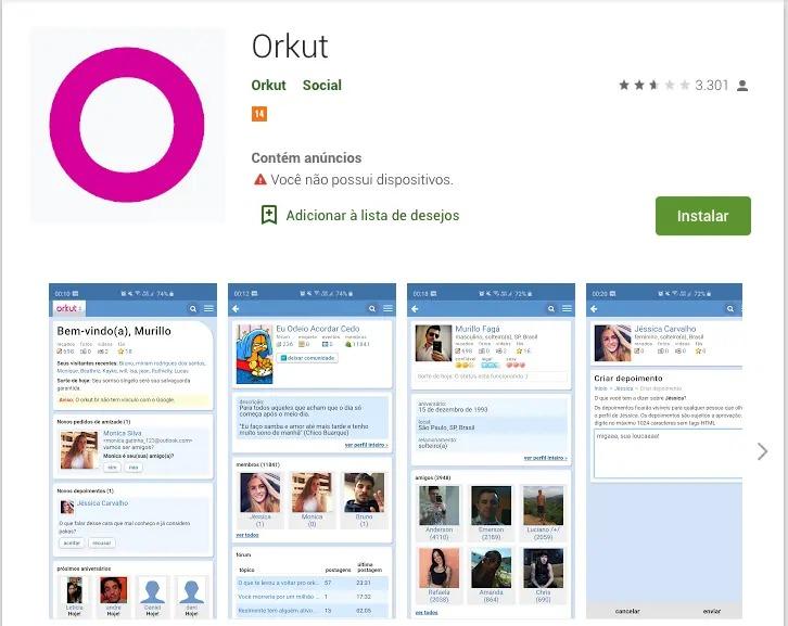 A volta do Orkut em 2020