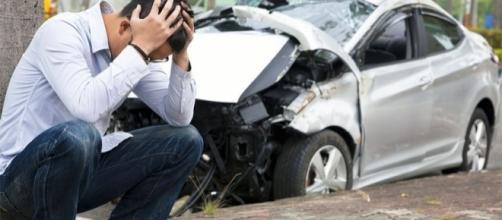 acidente de carro família em Taió
